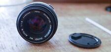 Olympus 50mm f/1.8 Lens Zukio OM System