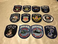 CITY OF NEW YORK POLICE DEPARTMENT PATCH LOT NYC NEW LOT OF 12!