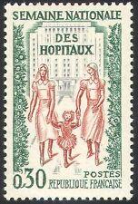 France 1962 Nurses/Hospital Week/Medical/Health/Welfare/Buildings 1v (n42458)