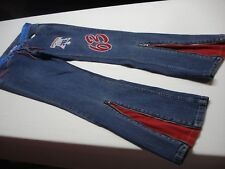 G-III SPORTS CARL BANKS NBA FOR HER PHILADELPHIA 76ERS SIXERS MESH JEANS SIZE 7