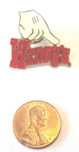 Wendy's Lapel Pin White Glove #2