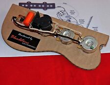 Ready Built Fender USA Jazz Bass +Series / Parallel Upgrade / Loom /Harness