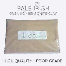 1KG High Quality Food Grade Calcium Bentonite Healing Clay Fullers Earth Acne
