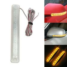 Universal 12V 9 LED Car Auto Amber Side Door Mirror Soft Turn Signal Light Hot