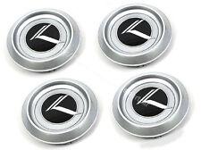2003 2004 2005 2006 KIA Sorento OEM Wheel Cap Set of 4 (Black logo)