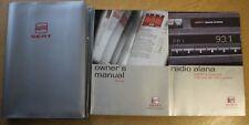 SEAT IBIZA HANDBOOK OWNERS MANUAL WALLET 2002-2006 PACK 9663