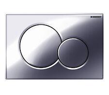 Geberit 115.770.21.5 Sigma 01 DUAL encastré plaque Brillant Chrome Pour UP320 UP720