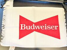 "Vintage Budweiser Hand Towel - 11.5"" x 15.5"" - Brand New"