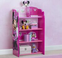 Girls Bookcase Disney Minnie Mouse Kids Furniture Storage Pink New Best