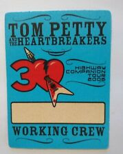 Tom Petty And The Heartbreakers Backstage Pass Original Pop Rock Music '06 Blue