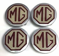 MGF / MG TF  ALLOY WHEEL CENTRE CAP SET GENUINE MG ROVER  DTC100630 54MM