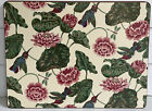 Set of 4 Pimpernel Cork Backed Floral Placemats | Peony Hummingbird Pattern