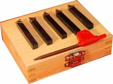 Satz 5 Drehwerkzeug Werkzeug 1/4 Quadrat kompatibel mit Unimat Drehbank