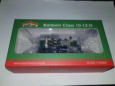 More details for oo9 bachmann 391-032 baldwin 10-12-d tank e763 sid sr maunsell green locomotive