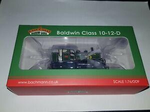 OO9 Bachmann 391-032 Baldwin 10-12-D Tank E763 Sid SR Maunsell Green Locomotive