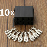 10PCS ROCKER SWITCH WIRING CONNECTOR PLUG FEMALE TERMINAL FOR ARB CARLING SOCKET