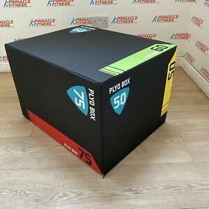 Blitz Fitness 3in1 Soft Foam Plyo/Plyometric Jump Squat Box Block Fitness