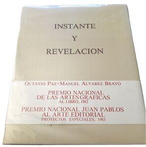 M Alvarez Bravo/Octavio Paz: Instante Y Revelacion SIGNED Circulo Editorial 1982