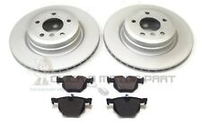 BMW 3 SERIES COUPE E92 330D 335D 2006-2012 REAR 2 BRAKE DISCS AND PADS (336MM)