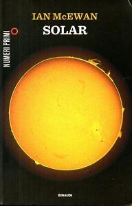 IAN McEWAN - SOLAR - 2012 EINAUDI