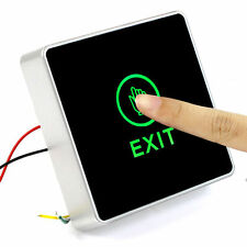 New Touch Exit Release Button Switch for Door Access Controller LED Indicator US