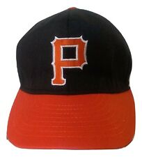 """NCAA Princeton Tigers Tournament Headwear Fitted 7 3/8  """"P"""" Logo Hat Made in USA"""