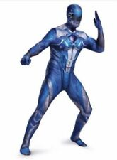 Adult Power Rangers Costume Halloween Blue Cosplay Comic Con Mens M 38-40 New