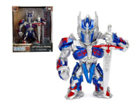 "Optimus Prime Transformers M407 4"" Metal Figure Jada Metal Figs 99386"
