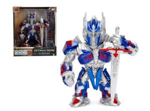 "Optimus Prime Transformers M407 4"" Metal Figure Jada Metal Figs 99386"