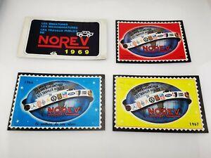catalogue jouets voitures miniatures NOREV 1965 1966 1967 1969 FRANCE