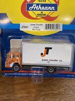 Athearn Ho Scale RTR 1/87 Jones Transfer Ford-C Box Truck Item# 27641