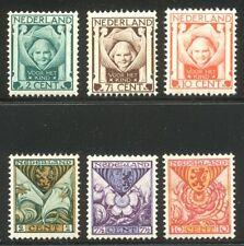 NETHERLANDS #B6-11 Mint NH - 1924-25 Welfare Sets ($45)