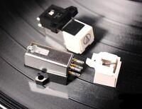 audio-technica Moving Magnet Cartridge MM LP Phono Turntable Phonograph Stylus