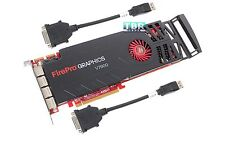 Dell AMD FirePro V7900 2GB GDDR5 Video Graphics Card SDR CJ9FJ 4x DP