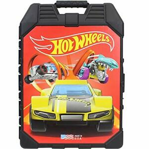 Hot Wheels 48- Car storage Case With Easy Grip Carrying Case Hot Wheels 48-car