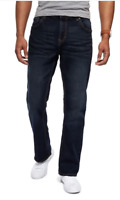 PEPE JEANS Hatch Pepe Mens Denim Jeans Dark Blue Brown Tint Bootcut Size 38W *21
