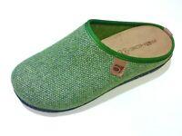 Rohde Pesto Damen Schuh Hausschuh Pantoffel Pantolette Clog 6631 62 grün
