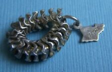 Hawaii sterling charm Vintage movable lei Aloha
