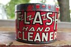 """VINTAGE FLASH HAND CLEANSER TIN CAN NO LID 2-5/8"""" TALL"""