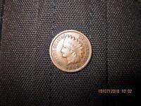 1889 Bronze Indian Head Penny!  Spectacular shape!