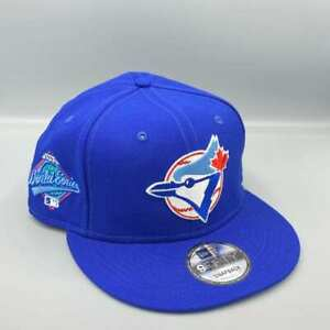 Toronto Blue Jays 1993 World Series 9FIFTY New Era Blue Snapback Hat Sky Bottom