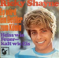 """7""""1969 MINT- RICKY SHAYNE Es wird ein Bettler zum König"""