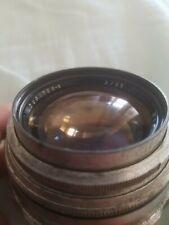 JUPITER-9 85mm f/2 M42 rare - great boke for portrait