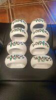 Napkin rings set of 8