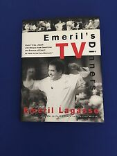 Emeril's TV Dinners Cookbook 1st Edition Signed
