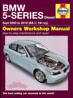 BMW SHOP MANUAL SERVICE REPAIR HAYNES BOOK CHILTON BENTLEY E60 E61