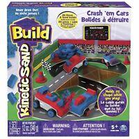Kinetic Sand Build - Crash 'Em Cars