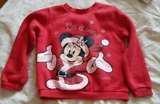 Primark Minnie Mouse Jumper. 4-5 years