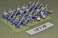 25mm napoleonic / prussian - infantry 24 figs - inf (18778)