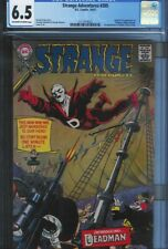 CGC 6.5 STRANGE ADVENTURES #205 1ST APPEARANCE OF DEADMAN 1967 OW/W PAGES